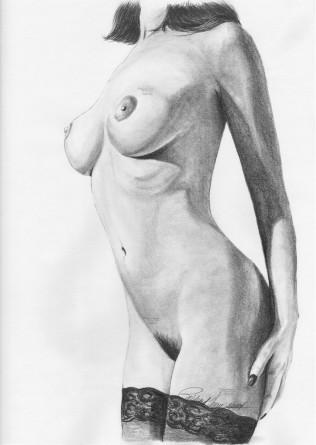 "Original Artwork: 14"" x 17"" graphite on 80# matte paper"