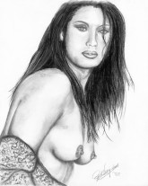 """11"""" x 14"""" charcoal on 80# off-white matte paper"""