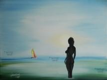 """18"""" x 24"""" Oil on Canvas STOLEN"""